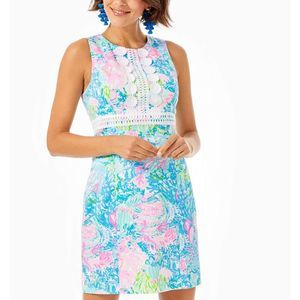 Lilly Pulitzer Railee Shift Dress Size 10